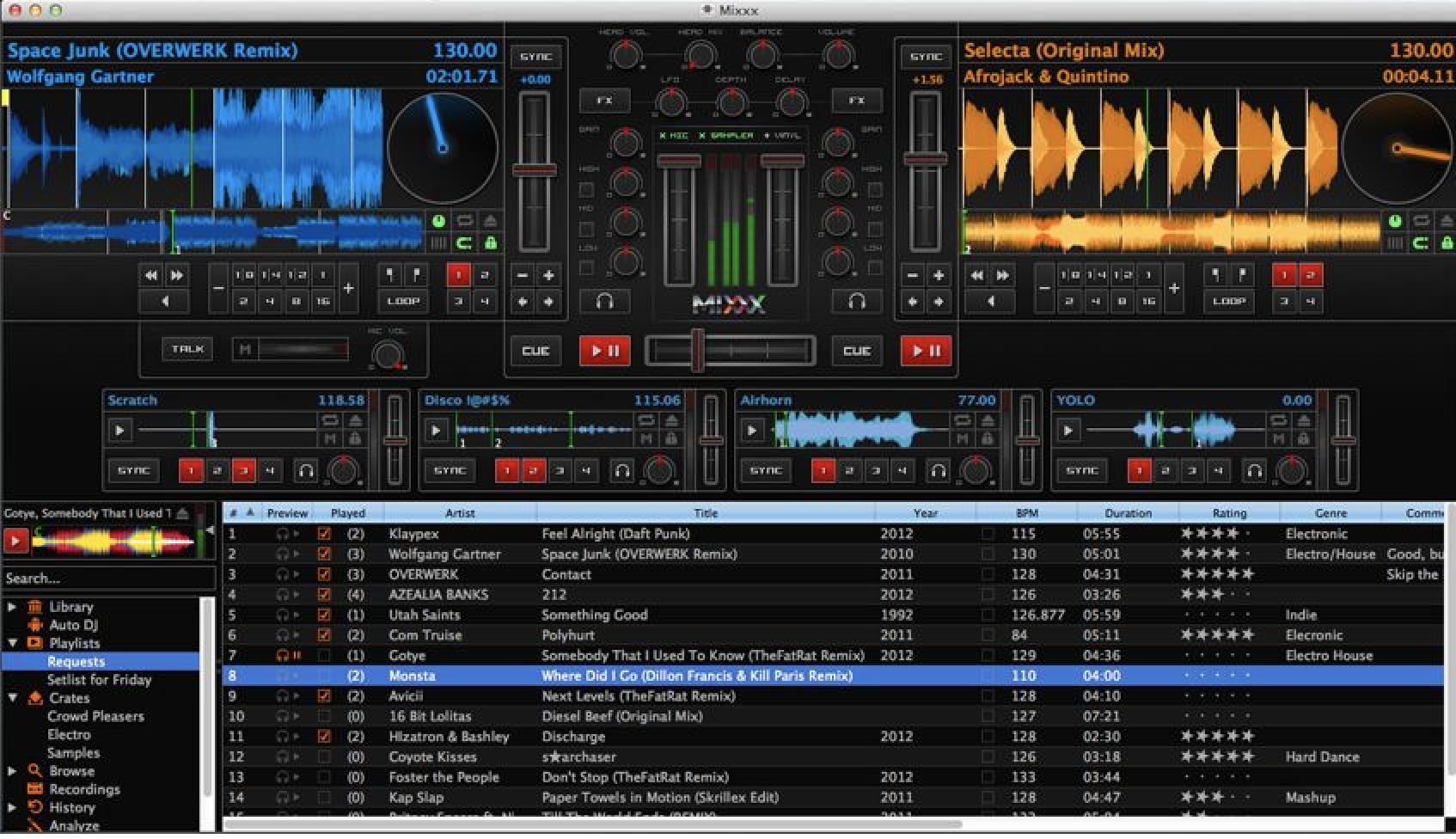 Loopazon, DJ MEXXX